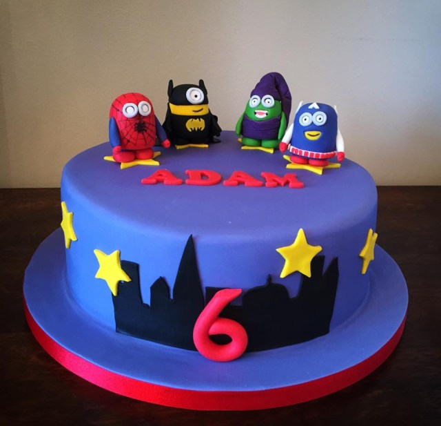 Minion Birthday Cake Minion 6th Birthday Cake