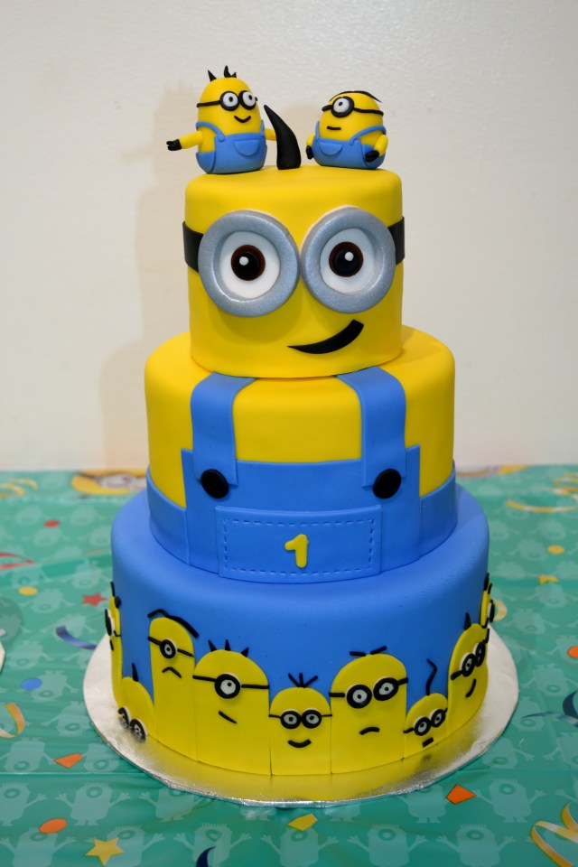 Minion Birthday Cake Minion Cake Ii