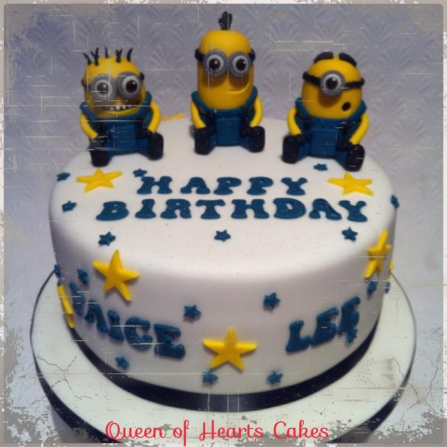 Minion Birthday Cake Minions Birthday Cake Cake Queen Of Hearts Cakes Cakesdecor
