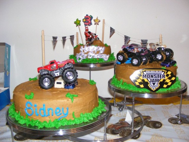 Monster Truck Birthday Cake Monster Jam Birthday Cakecentral