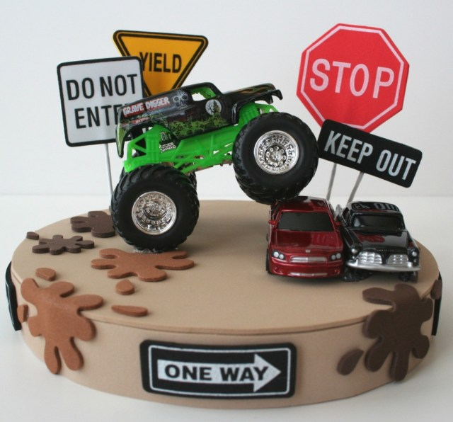 Monster Truck Birthday Cake Monster Truck Birthday Cake Pictures