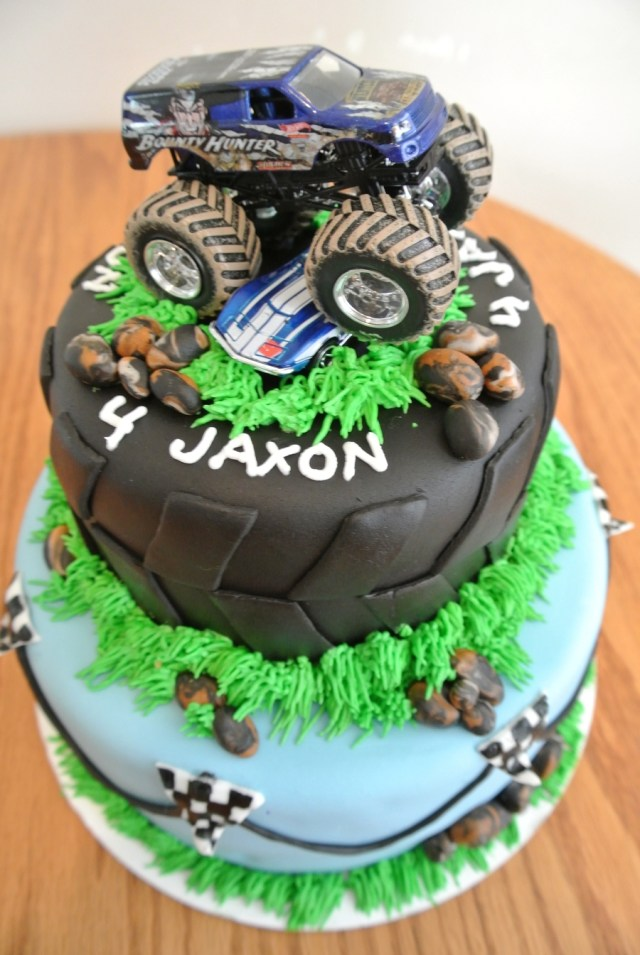 Monster Truck Birthday Cake Monster Truck Birthday Cakecentral