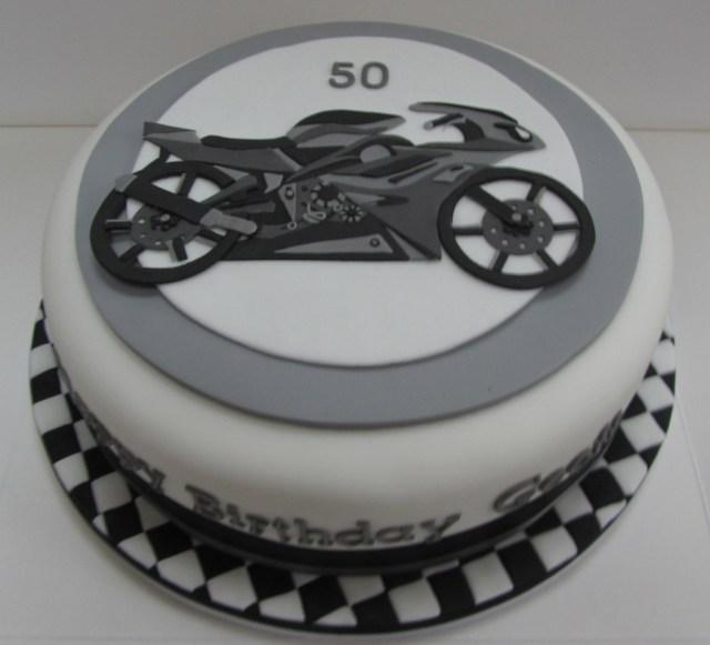 Motorcycle Birthday Cakes Motorcycle Birthday Cake Justine Flickr