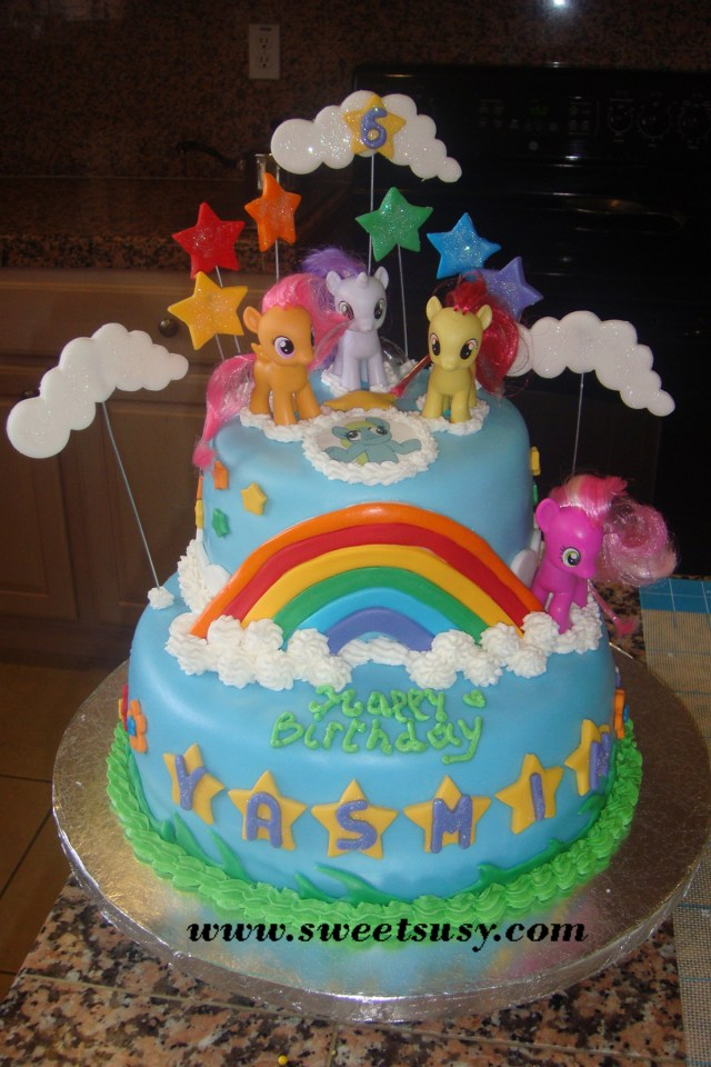My Little Pony Birthday Cake Ideas 13 My Little Pony Bday Cakes Photo My Little Pony Birthday Cake