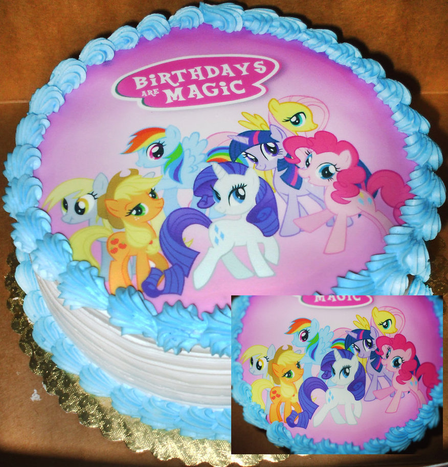 My Little Pony Birthday Cake Ideas 13 Cakes 10th Photo