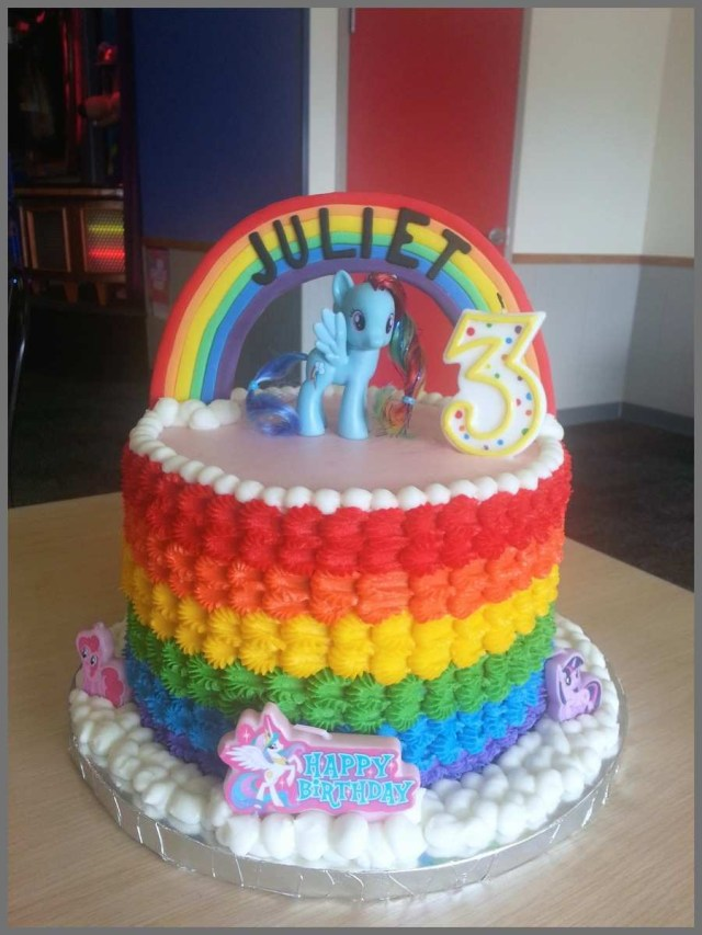 My Little Pony Birthday Cake Ideas My Little Pony Birthday Cake Ideas Prettier Rainbow My Little Pony