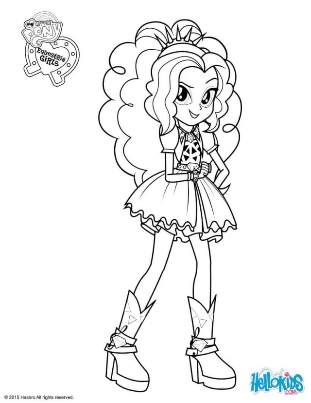 My Little Pony Equestria Girl Coloring Pages Equestria Girls Coloring Pages Little Pony Equestria Girls Rainbow