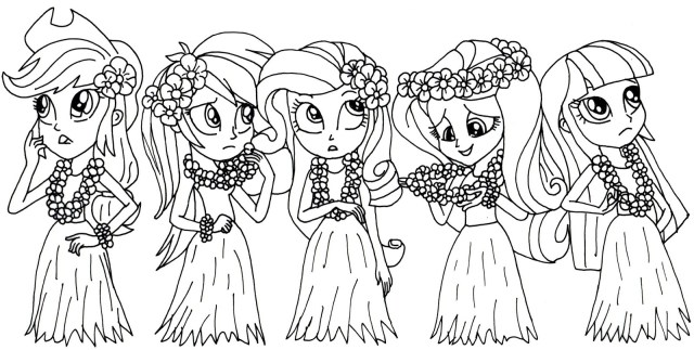 My Little Pony Equestria Girl Coloring Pages Free Printable My Little Pony Coloring Pages My Little Pony