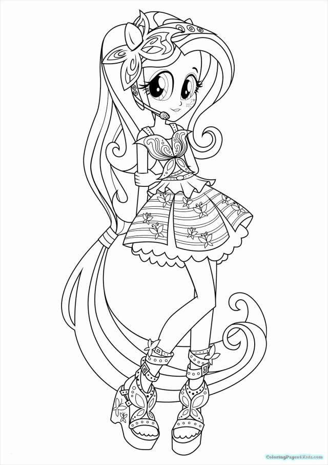 My Little Pony Equestria Girl Coloring Pages My Little Pony Equestria Girls Coloring Pages Awesome Collection