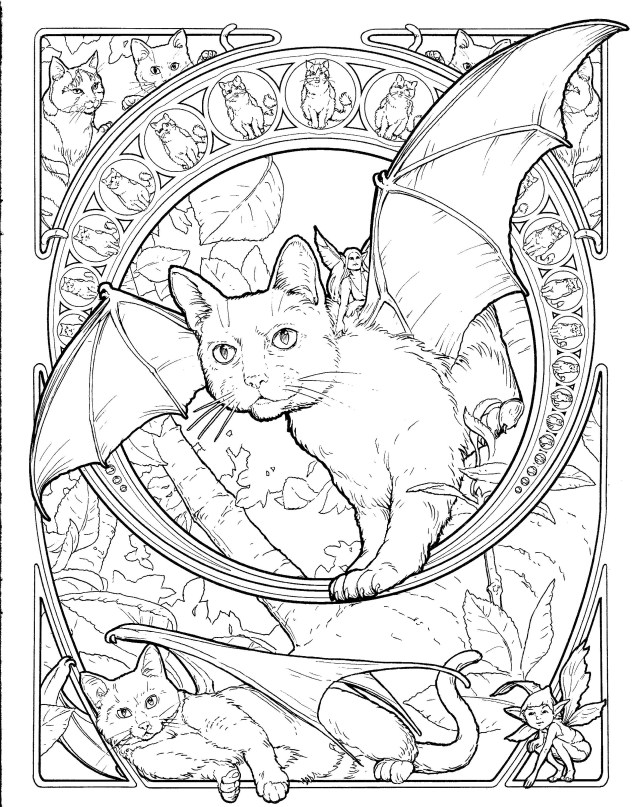 Nyan Cat Coloring Pages Nyan Cat Color Pages For Adults Colouring Catboy Christmas Carmi