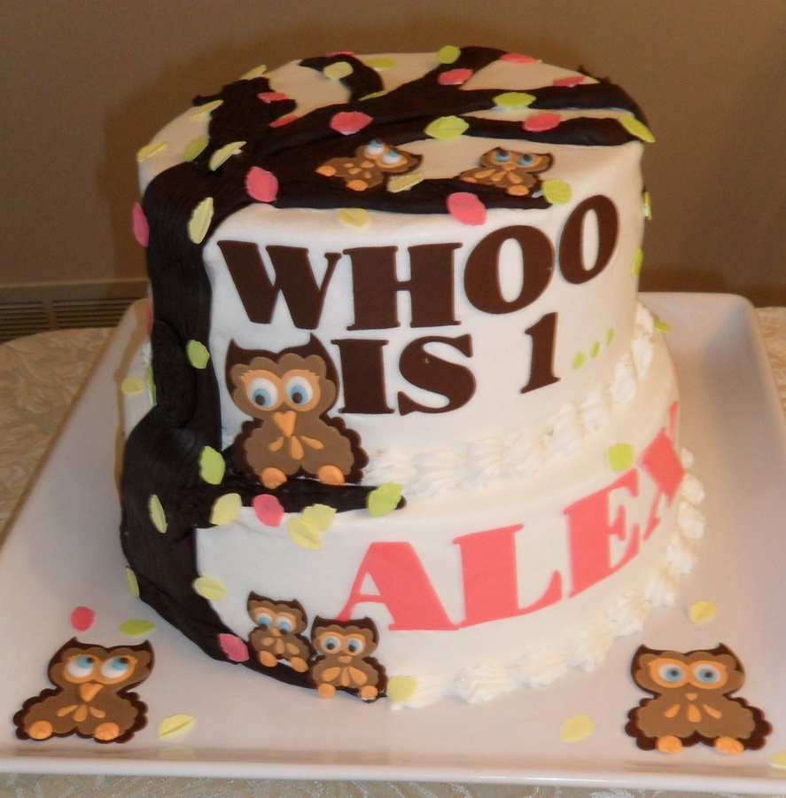 Owl Birthday Cake Owl Cakes Decoration Ideas Little Birthday Cakes