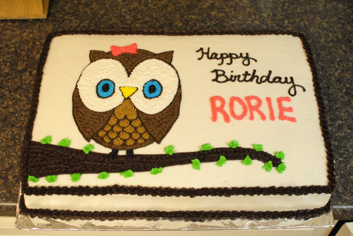 Owl Birthday Cake Owl Cakes Decoration Ideas Little Birthday Cakes