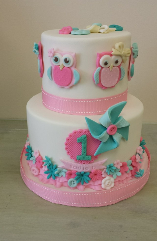 Owl Birthday Cakes Owl Themed Birthday Cake Cakecentral
