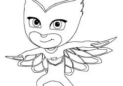 Owlette Coloring Page Owlette Coloring Pages Printable