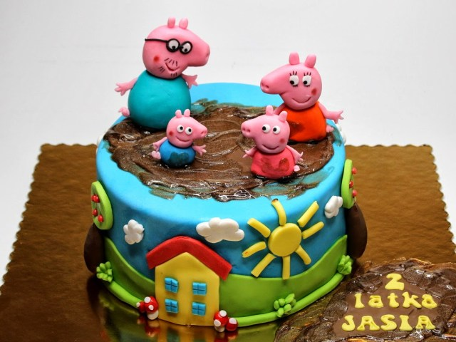 Peppa Pig Birthday Cake 9 Peppa Pig Cakes Birthday Cakes Photo Peppa Pig Birthday Cake