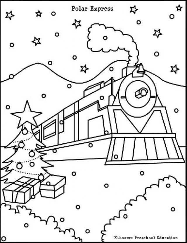 Polar Express Coloring Pages Polar Express Coloring Pages Printable At Getdrawings Free For