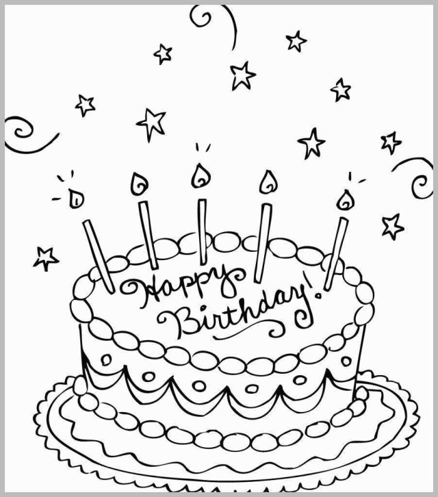 Printable Birthday Coloring Pages 52 Fresh Ideas Of Printable Birthday Coloring Pages Best Of