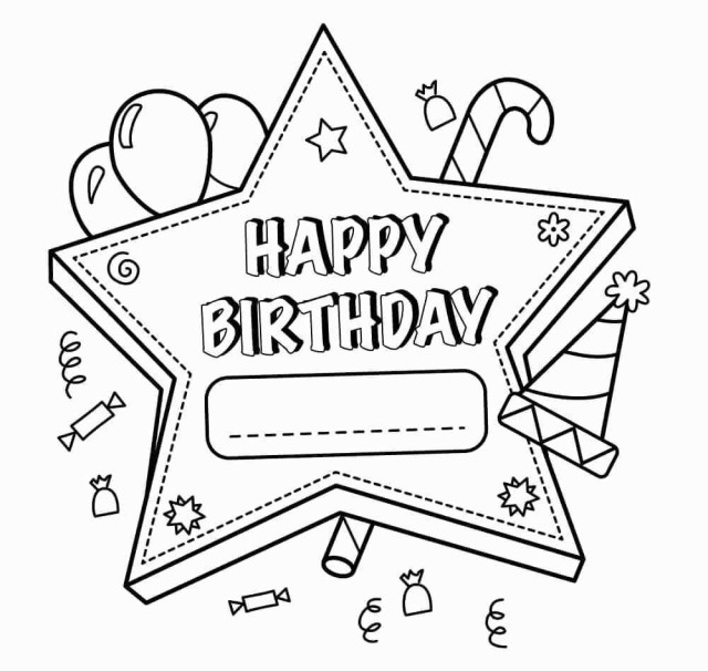 Printable Birthday Coloring Pages Happy 18th Birthday Coloring Pages Unique 12 Collection Printable