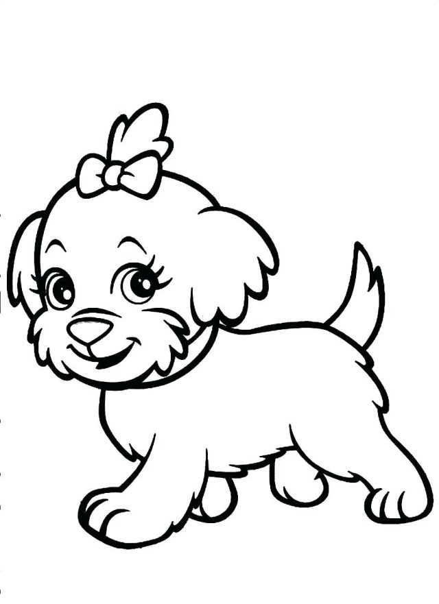 Puppy Coloring Pages Coloring Pages Coloring Pages Puppy To Print For Freefree