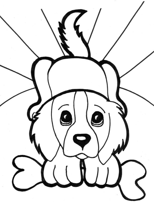 Puppy Coloring Pages Coloring Pages Cute Puppy Coloring Pages To Print Excelent