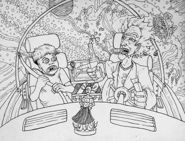 Rick And Morty Coloring Pages Coloring Page Page 983 Towtour