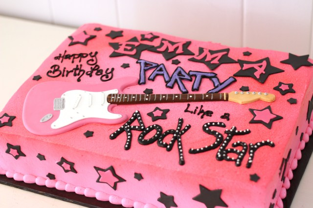 Rock Star Birthday Cake 10 Guitar Cupcake Cakes Like A Design Photo Guitar Birthday Cake