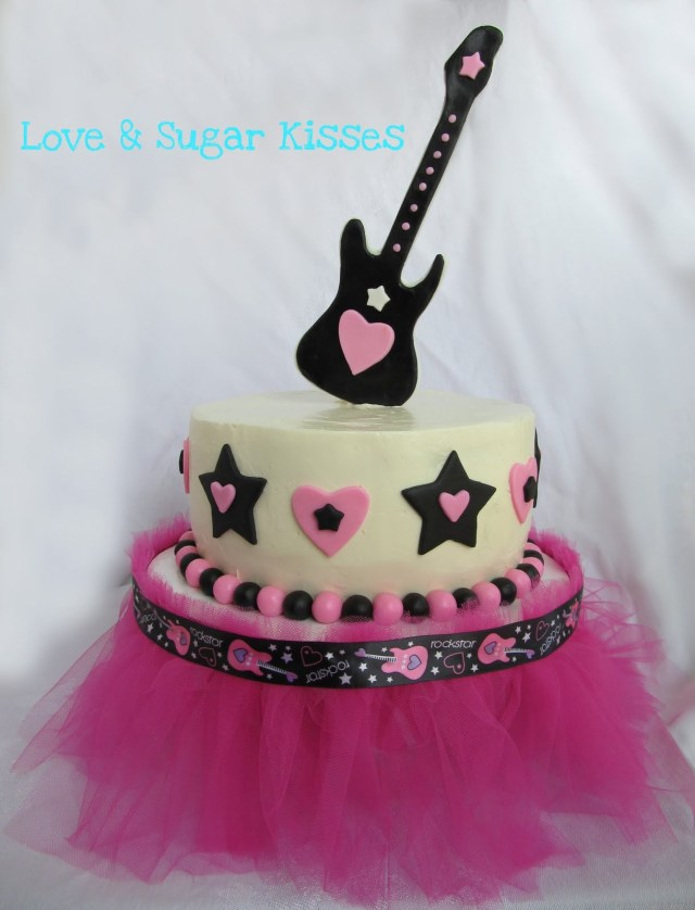 Rock Star Birthday Cake 11 Rock Star Cakes For Girls Photo Rock Star Birthday Cake Ideas