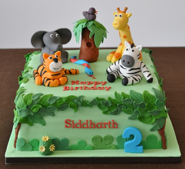 Safari Birthday Cake Awesome Safari Birthday Cake Floyddeanflycasting