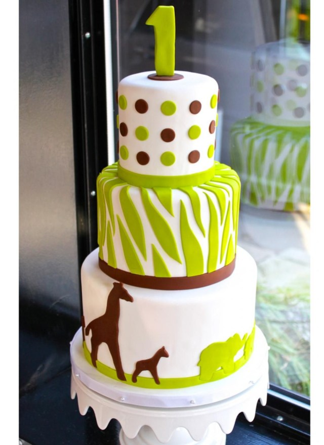 Safari Birthday Cake Modern Safari Birthday Cake Whipped Bakeshop First Birthday