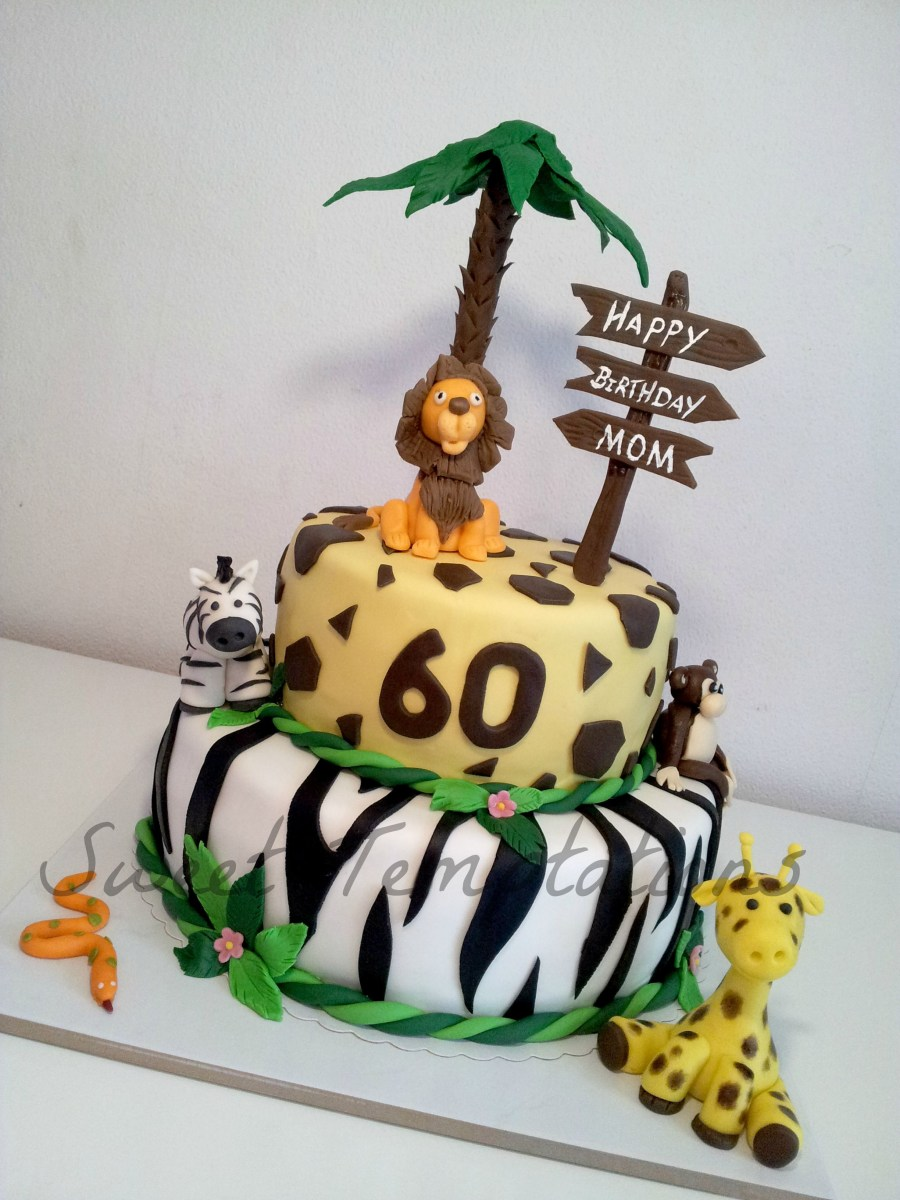 23+ Best Image of Safari Birthday Cake