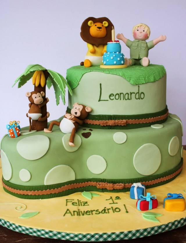 Safari Birthday Cake Safari Birthday Cake Isa Flickr