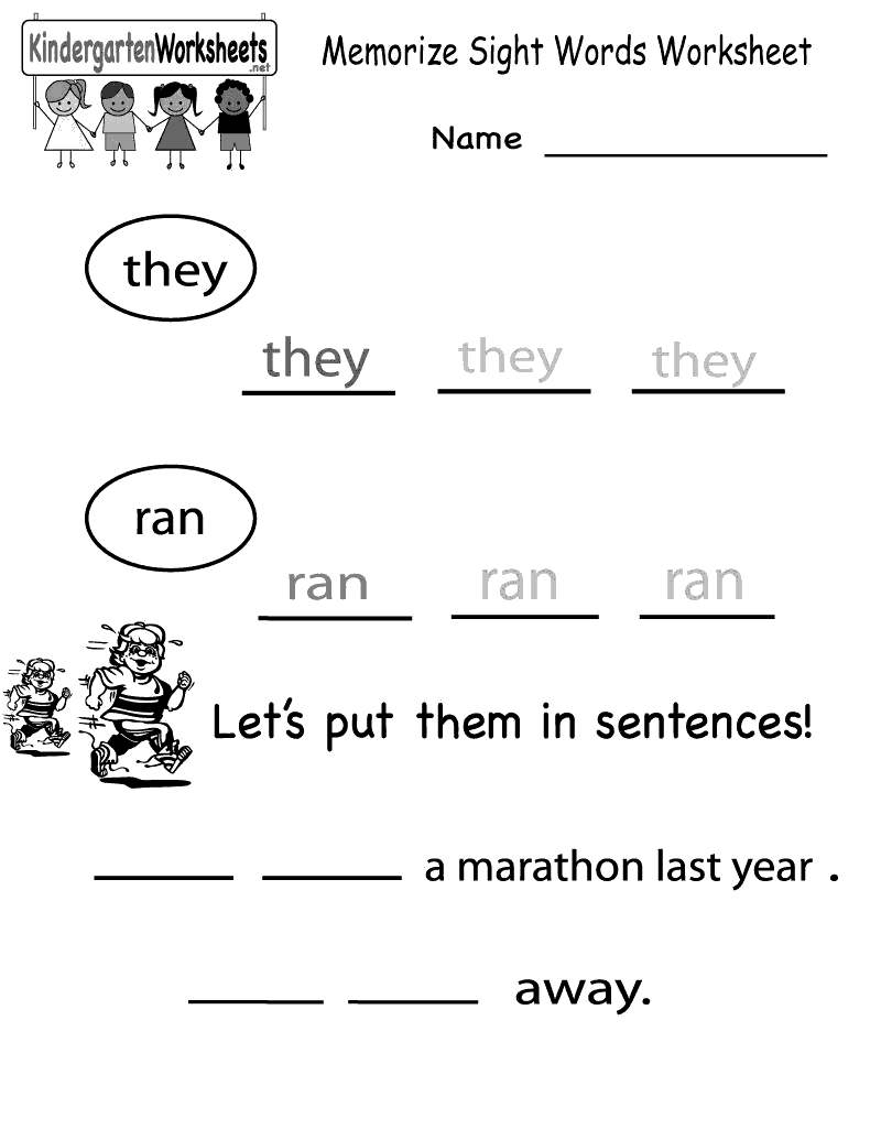 Sight Word Coloring Pages First Grade Sight Word Coloring Pages ...