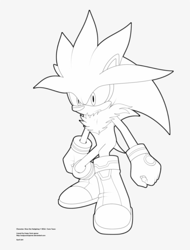 Sonic Coloring Page 44 Super Sonic Coloring Pages To Endearing Enchanting Silver The