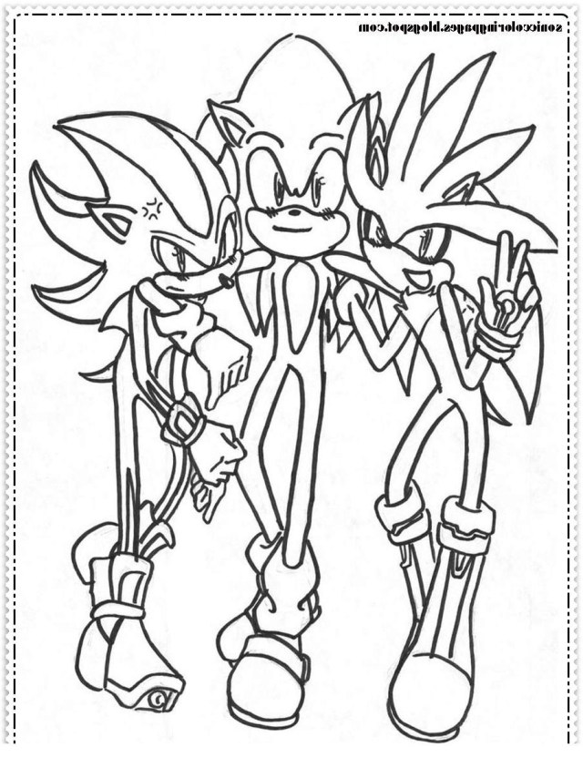 Sonic Coloring Page Sonic Coloring Page Metal Sonic Coloring Pages Neo Outline Get