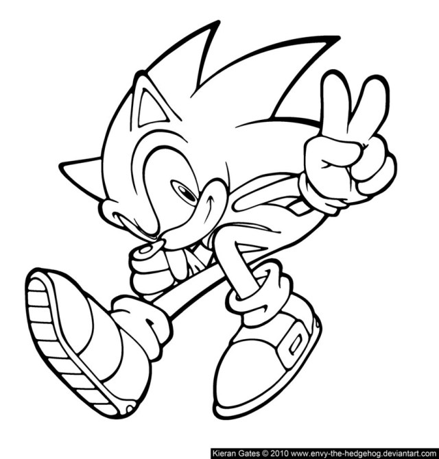 Sonic Coloring Page Sonic To Download For Free Sonic Kids Coloring Pages