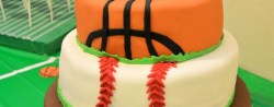 Sports Birthday Cakes All Sports Cake All Sports Birthday Party Pinterest Sports