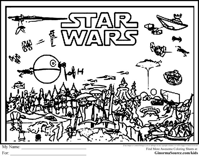 Star Wars Color Pages Coloring Pages Awesomear Wars Sheets Photo Ideas Hellokids Best