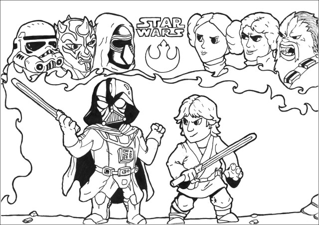 Star Wars Color Pages Star Wars Free To Color For Kids Star Wars Kids Coloring Pages