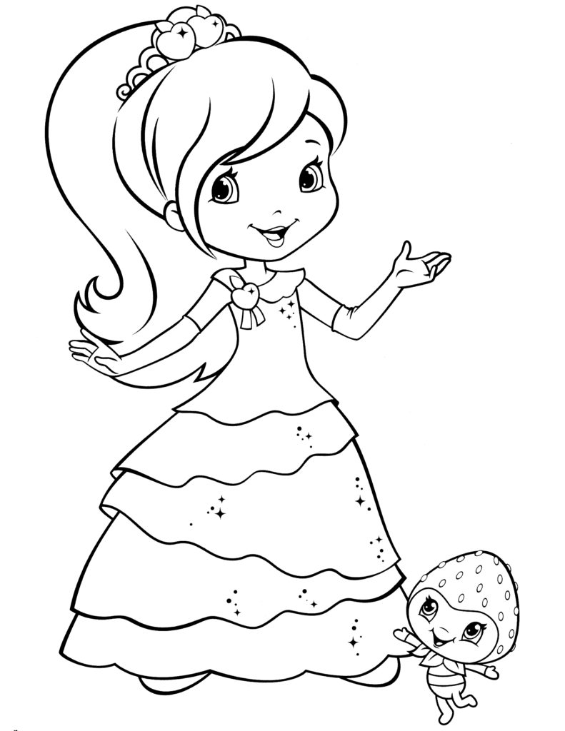 Strawberry Shortcake Coloring Pages Coloring Pages Strawberry ...