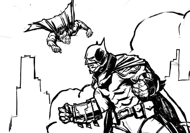 Superman Coloring Page Batman Superman Coloring Pages At Getdrawings Free For