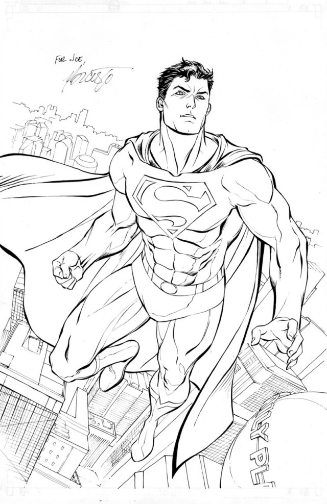 Superman Coloring Page Superman Free To Color For Children Superman Kids Coloring Pages