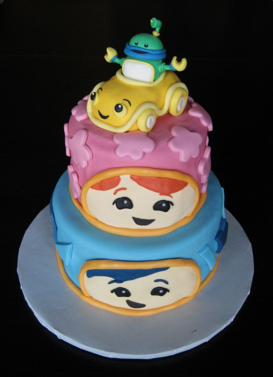 Team Umizoomi Birthday Cake Custom Cakes Julie Ideas
