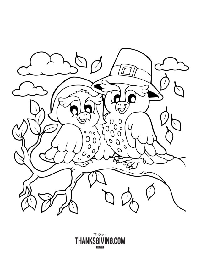 Thanksgiving Color Pages Thanksgiving Coloring Book Pages For Kids