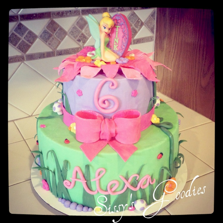 Tinkerbell Birthday Cake Cakecentral