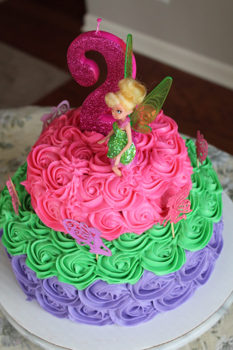 Tinkerbell Birthday Cake Recipes Inspired Mom