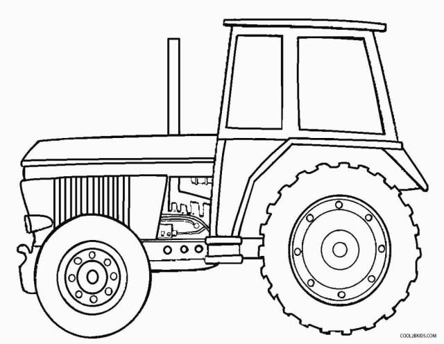 21+ Excellent Picture of Tractor Coloring Pages - entitlementtrap.com