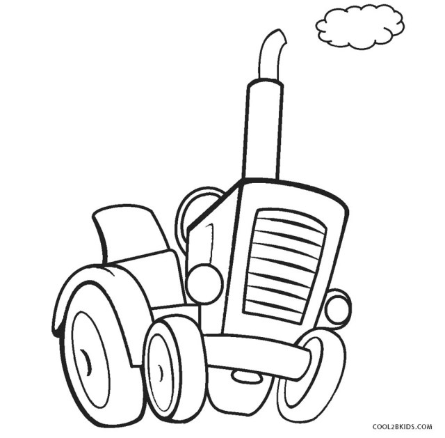 Tractor Coloring Pages Free Printable Tractor Coloring Pages For Kids Cool2bkids