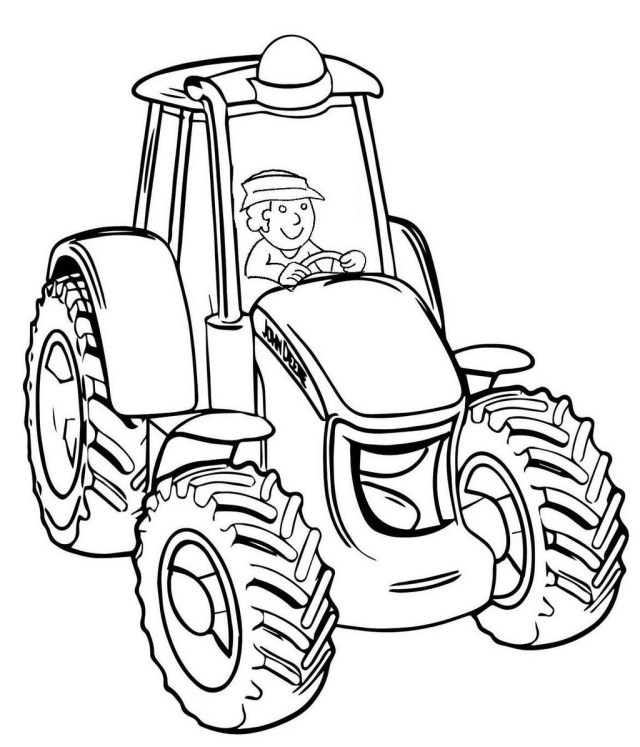 Tractor Coloring Pages Tractor Coloring Best Of Images Pin Von Gelis Nia Auf Tractor