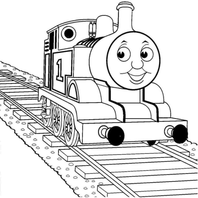 Train Coloring Page Coloring Pages Coloring Pages Thomas The Train Page Color Periods