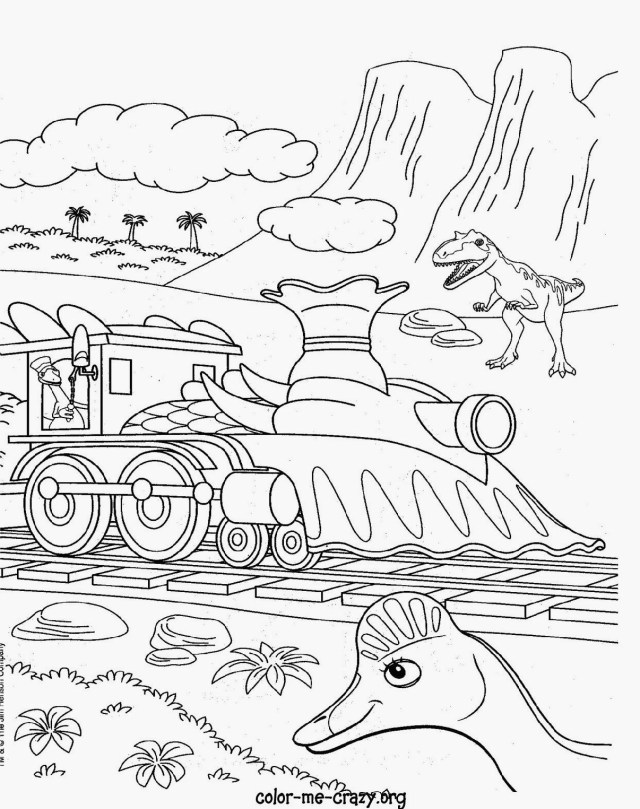 Train Coloring Page Dinosaur Train Coloring Pages 75 With Dinosaur Train Coloring Pages